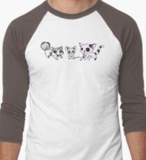 Emma's Critters Men's Baseball ¾ T-Shirt