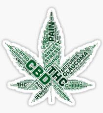 Cannabis CBD   Sticker