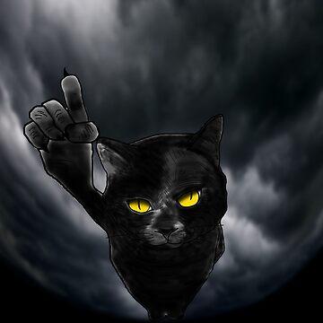 Black Cat Behemoth (Master and Margarita) by thesamba