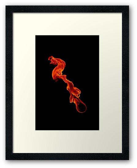 Striking Dragon large version by Aden Brown