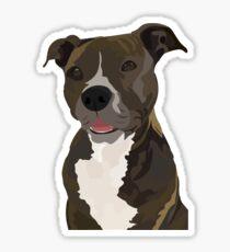 Pitbull Sticker, Pit Bull Stickers, American Staffordshire Terrier, Staffordshire Bull Terrier, American Pit Bull Terrier Sticker