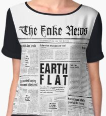 The Fake News Vol. 1, No. 1 Chiffon Top