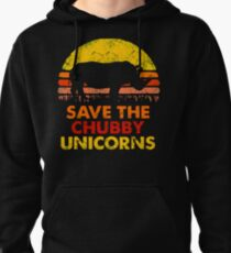 Save The Chubby Unicorns Pullover Hoodie