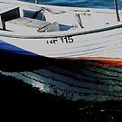 Boat Reflection by hans peðer alfreð olsen
