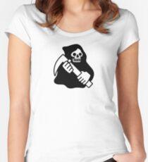 Tod Tailliertes Rundhals-Shirt