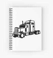 Truck vehicle Spiral Notebook