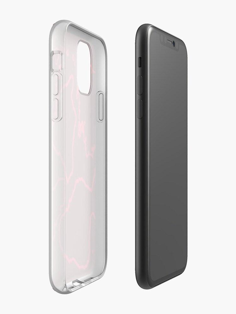coque iphone 7 silicone transparente - Coque iPhone « Streetwear Red Camo Géographie Design », par EG-Tech