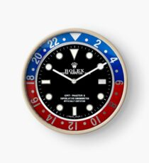 Rolex Bluered Clock