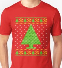 Periodic Table Ugly Christmas Sweater  Unisex T-Shirt