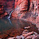 """Handrail Pool"" Karijini National Park, Western Australia by wildimagenation"