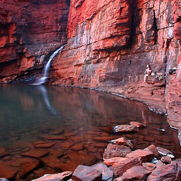 """Handrail Pool"" Karijini National Park, Western Australia by wildimagenation"