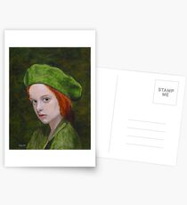Child in Green Postcards