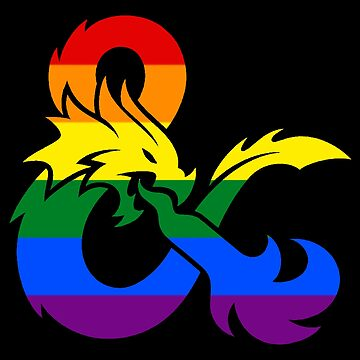 Dungeons and Dragons LGBTQ Flag  by medleys