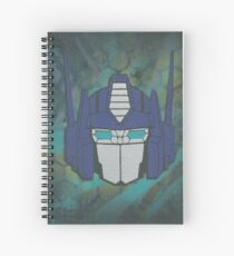 optimus prime even better than before Spiral Notebook