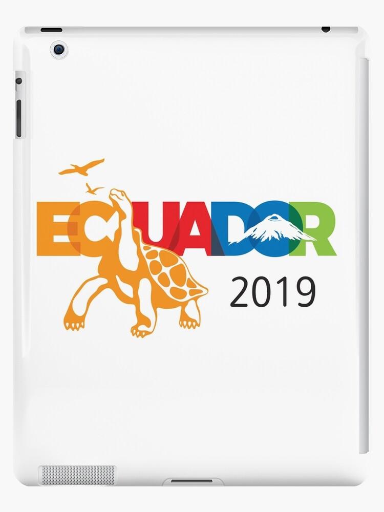 'Ecuador International Convention 2019' iPad Case/Skin by Gati