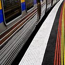 Train At Station..Ringwood,Victoria by graeme edwards
