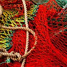 Colourful Nets...Hobart,Tasmania by graeme edwards