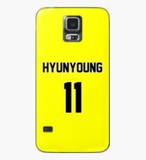 Rainbow Hyunyoung Jersey Case/Skin for Samsung Galaxy