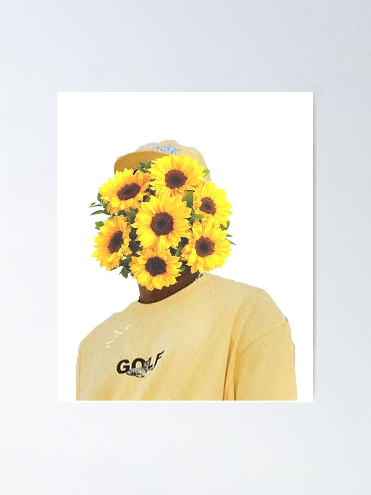 Alternate view of flowers Poster