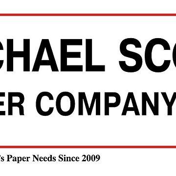 Michael Scott Paper Company logo by p0pculture3
