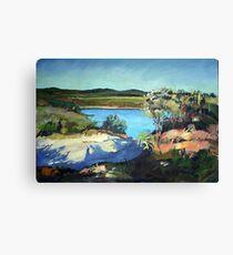 Moreton Island Canvas Print