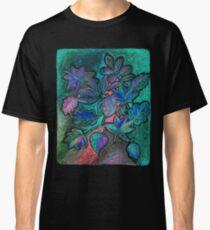 Hojas de noche ultravioleta Camiseta clásica