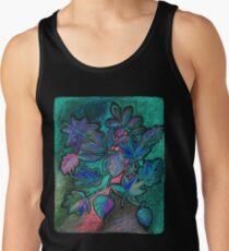Hojas de noche ultravioleta Camiseta de tirantes