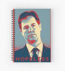 Nick Clegg - Hopeless Spiral Notebook