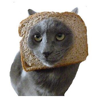 Bored breadcat by p0pculture3
