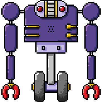Pixel Robot 140 by Vampireslug