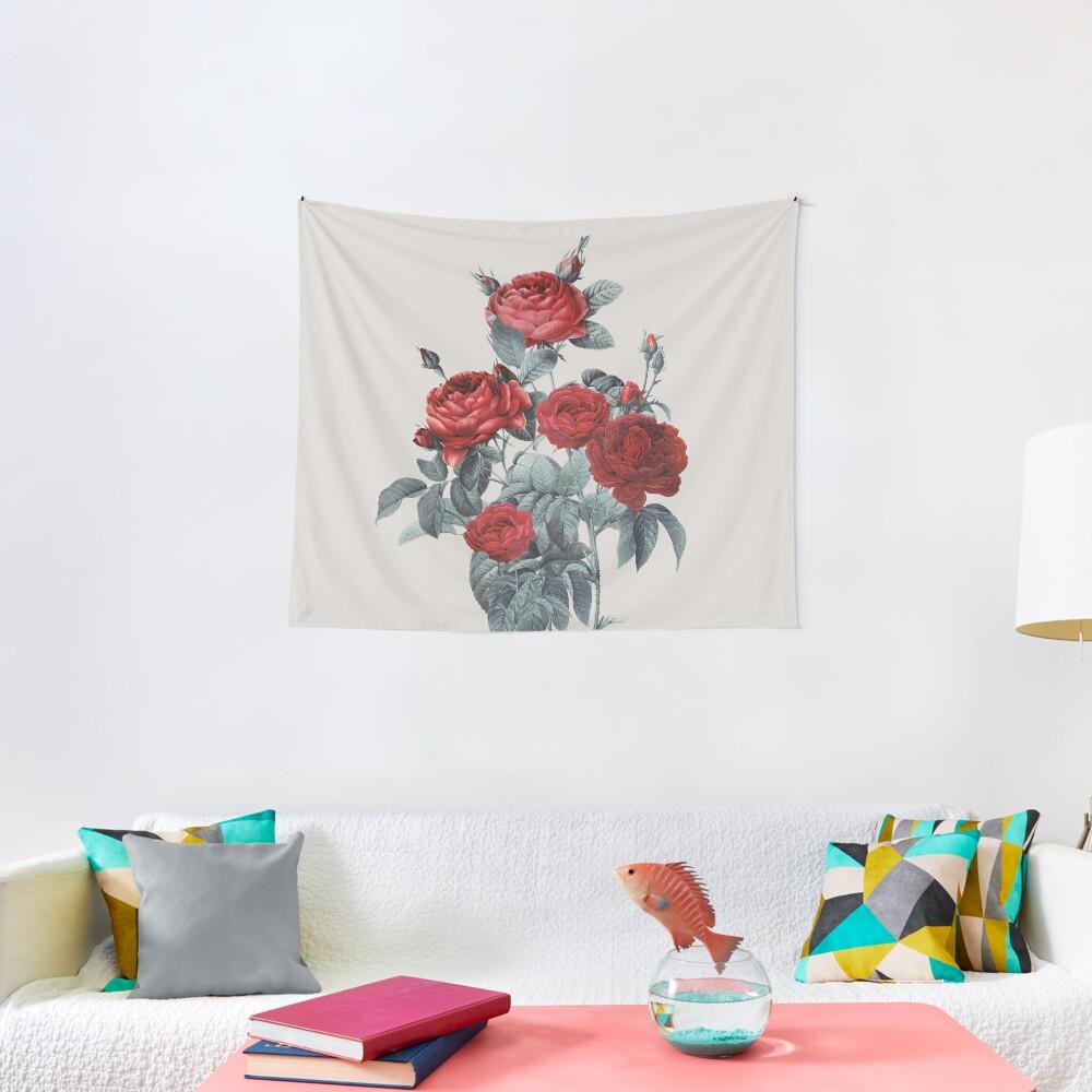 Minimal Redpassion Tapestry