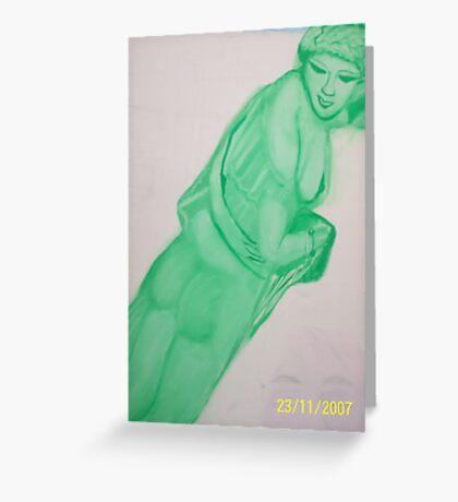 Aphrodite - Goddess of Romance Greeting Card