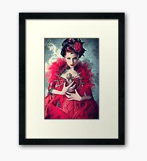 Red Queen Framed Print