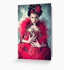 Red Queen Greeting Card