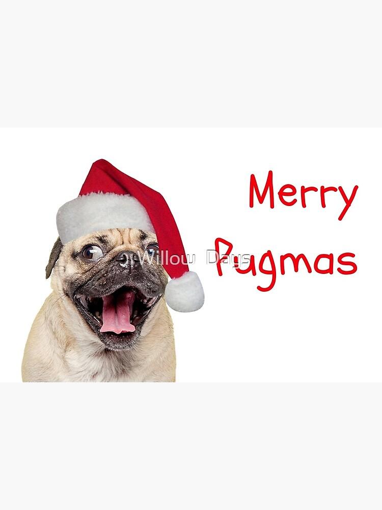 Dog Christmas Cards.Merry Pugmas Pug Christmas Card Dog Christmas Card Meme Greeting Cards Greeting Card