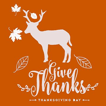 Deer silhouette  -  Give Thanks  by almawad