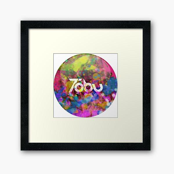 Tobu - Colorful logo Framed Art Print