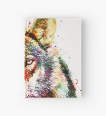 Forest Animal Hardcover Journal