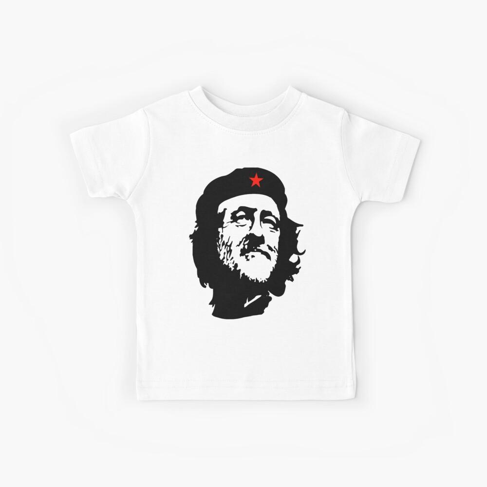 CORBYN, Comrade Corbyn, Election, Leader, Politics, Labour Party, Black on White Kinder T-Shirt