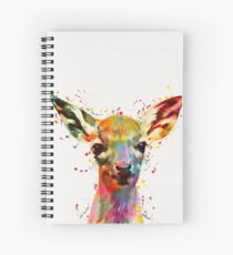 Baby Deer  Spiral Notebook