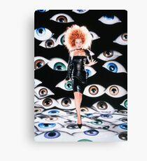 Gillian Anderson x Files  Canvas Print