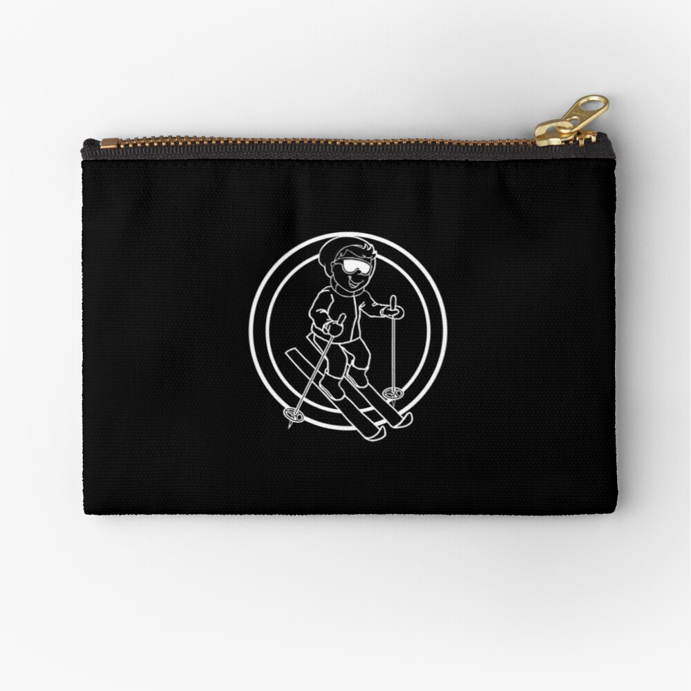 Skier - Casual - Relaxed Zipper Pouch