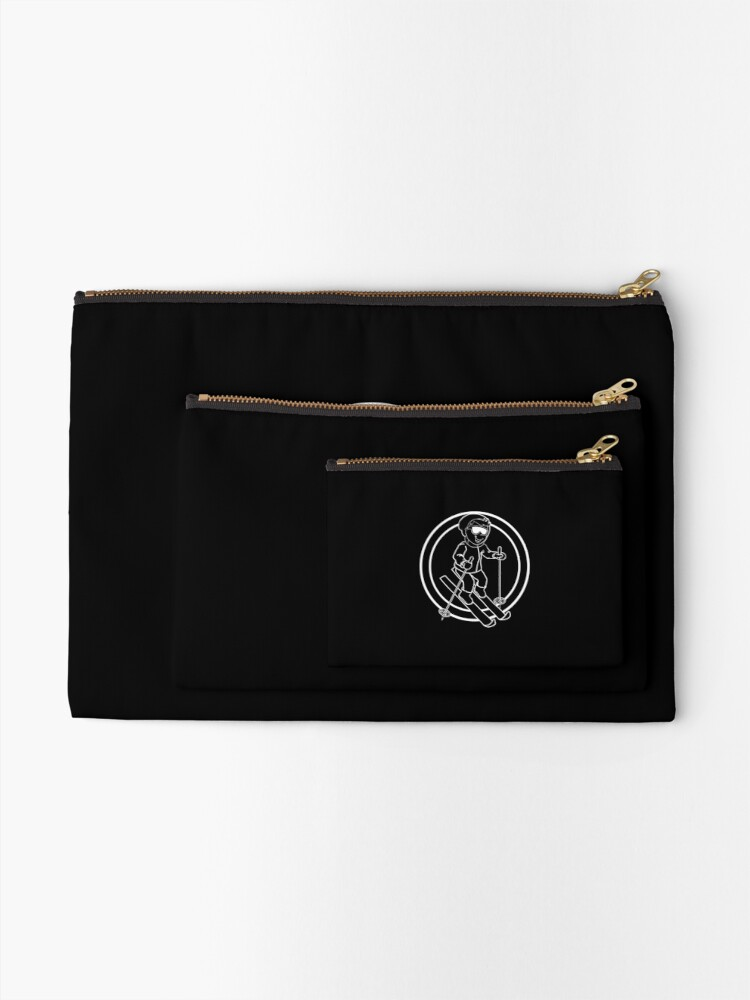 Alternate view of Skier - Casual - Relaxed Zipper Pouch