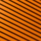 Orange and Black Angled Stripes by dsgnguy