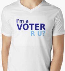 I'm A Voter Men's V-Neck T-Shirt
