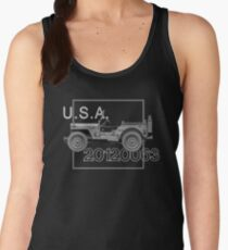 Willys MB WWII Vintage Women's Tank Top