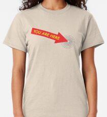 Du bist hier. [Rot] Classic T-Shirt
