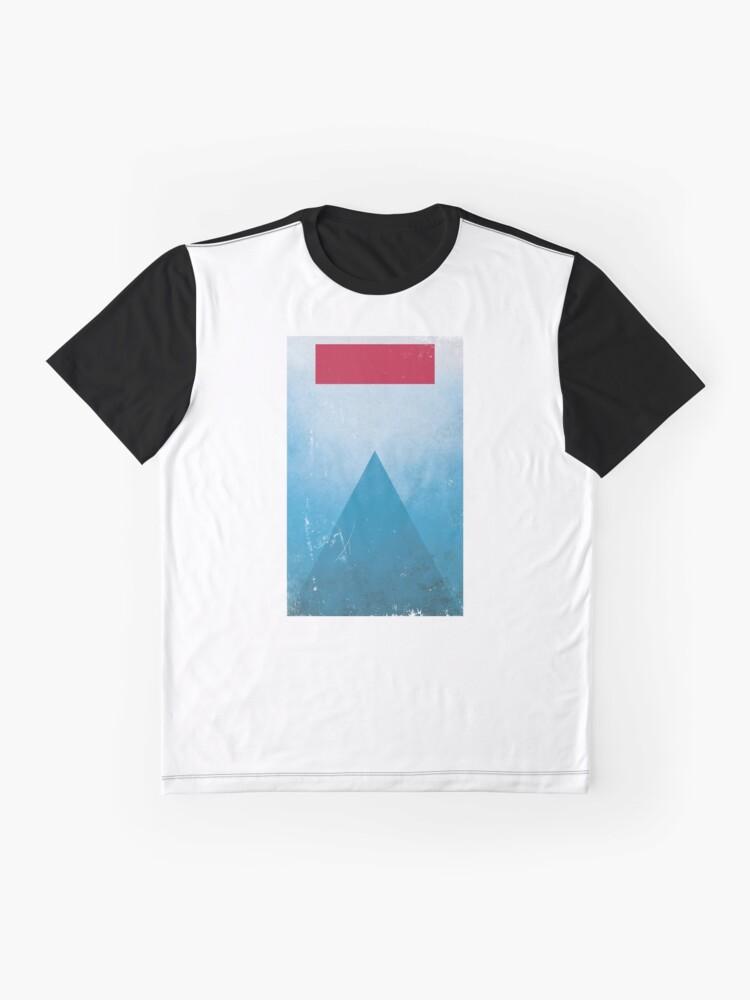 Alternate view of Minimalist Jaws Graphic T-Shirt