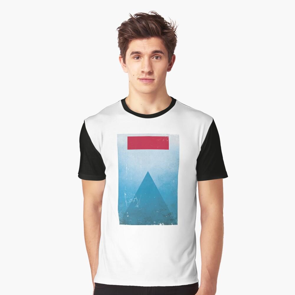 Minimalist Jaws Graphic T-Shirt