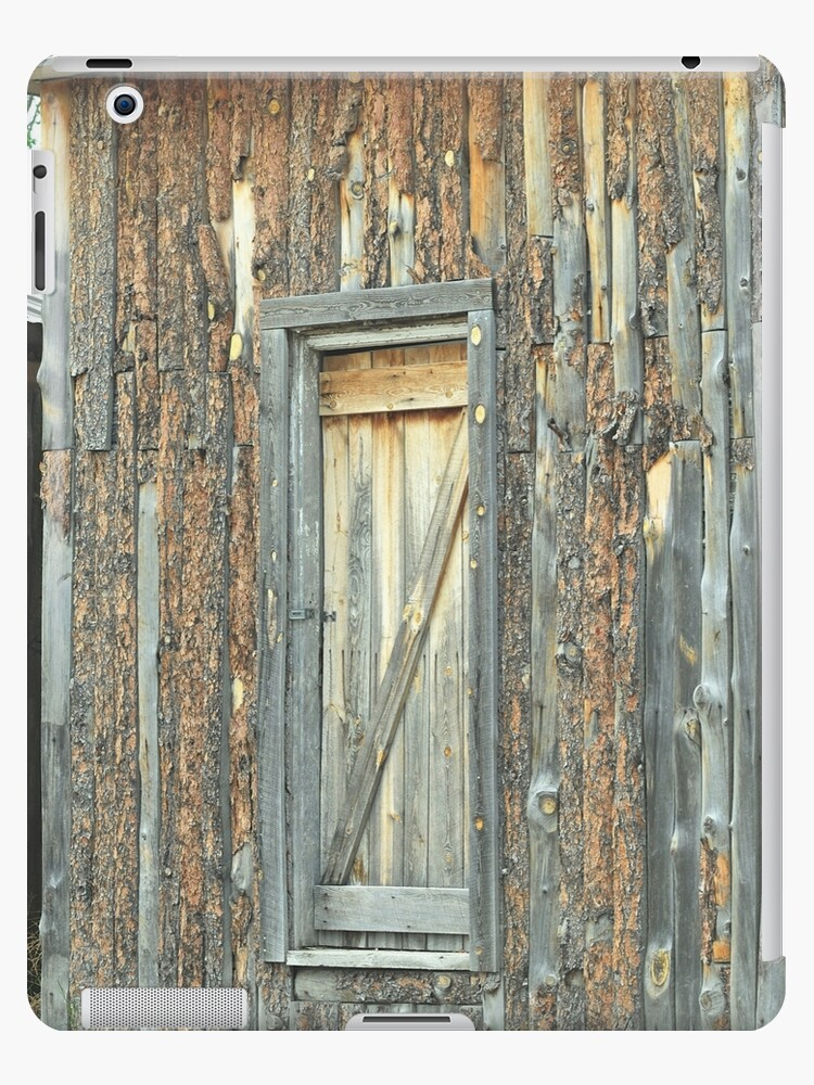 'Weathered Barn with Old Door' iPad Case/Skin by 2CrabbySisters